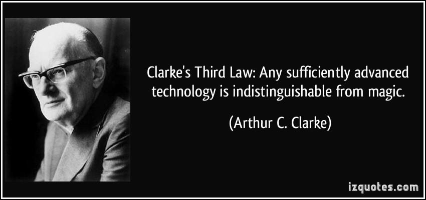 Clarke's Third Law